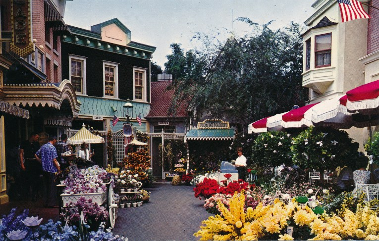 Down of Main Street's allies which is full of flowers.