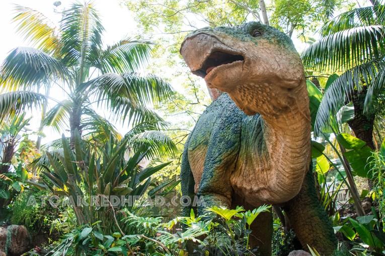 A large stegosaur.