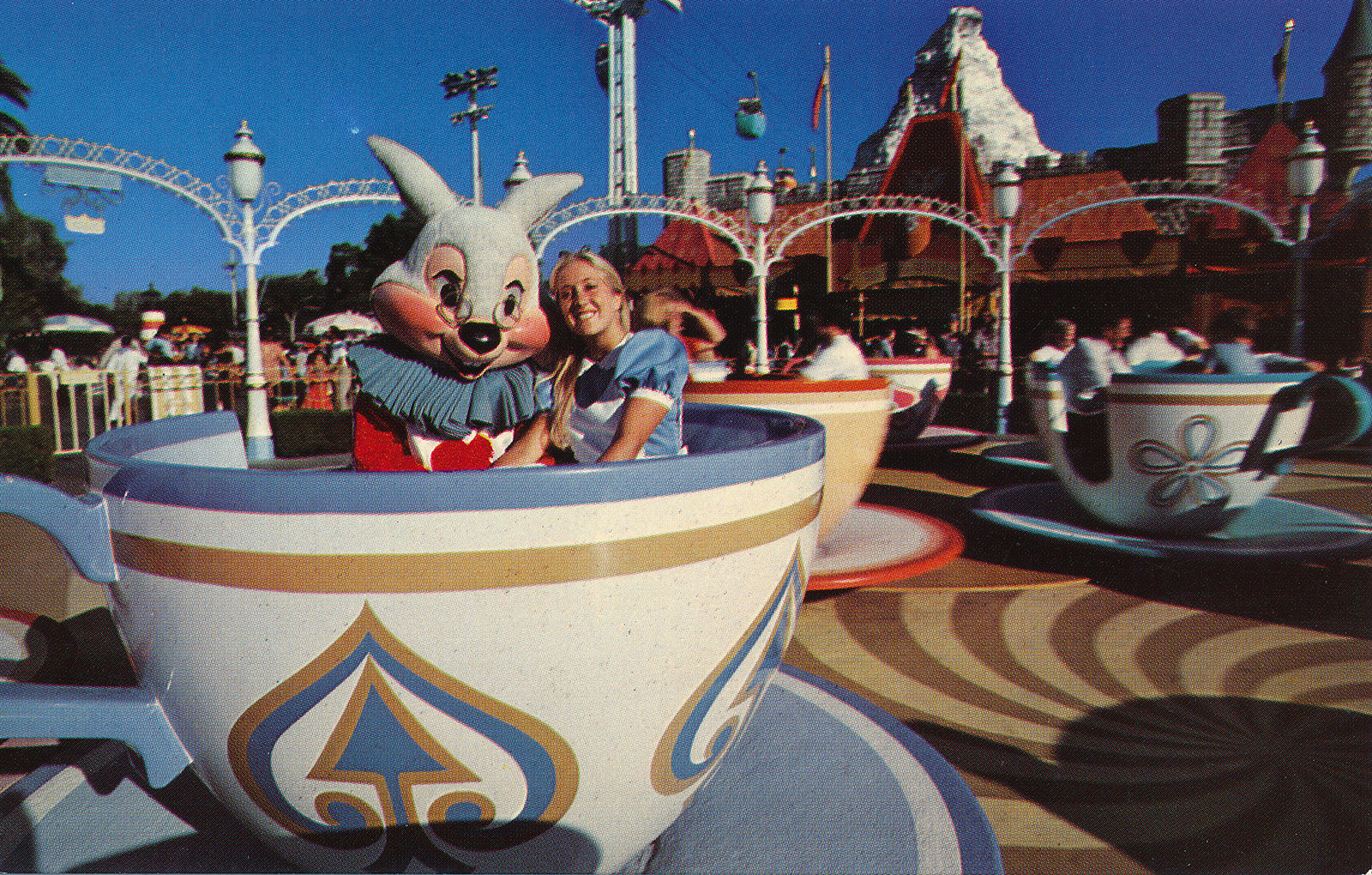 Vintage Disneyland Fantasyland Postcard It/'s A Small World