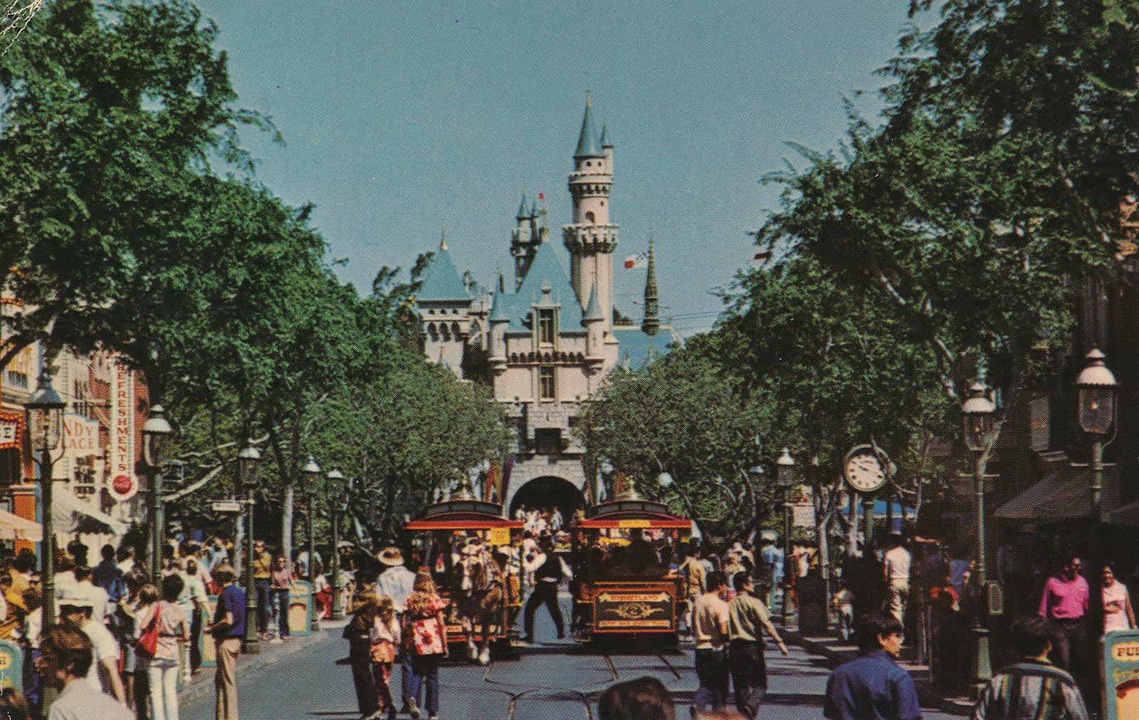 Vintage Disneyland Postcards: Fantasyland | Atomic Redhead