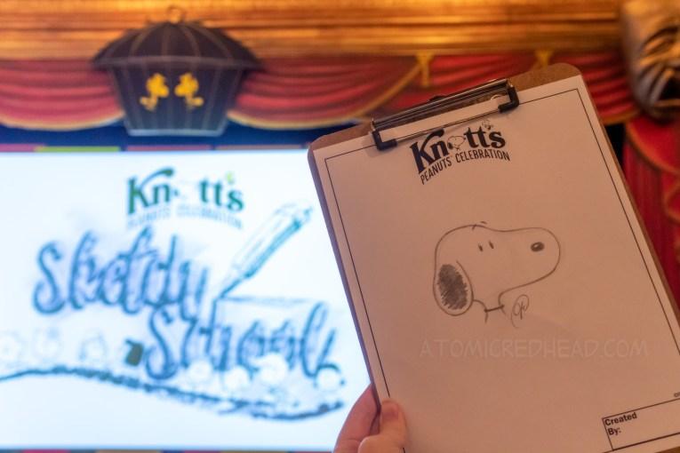 My Snoopy sketch.