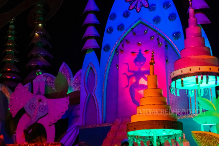The fanciful interpretation of Bali in 'it's a small world'