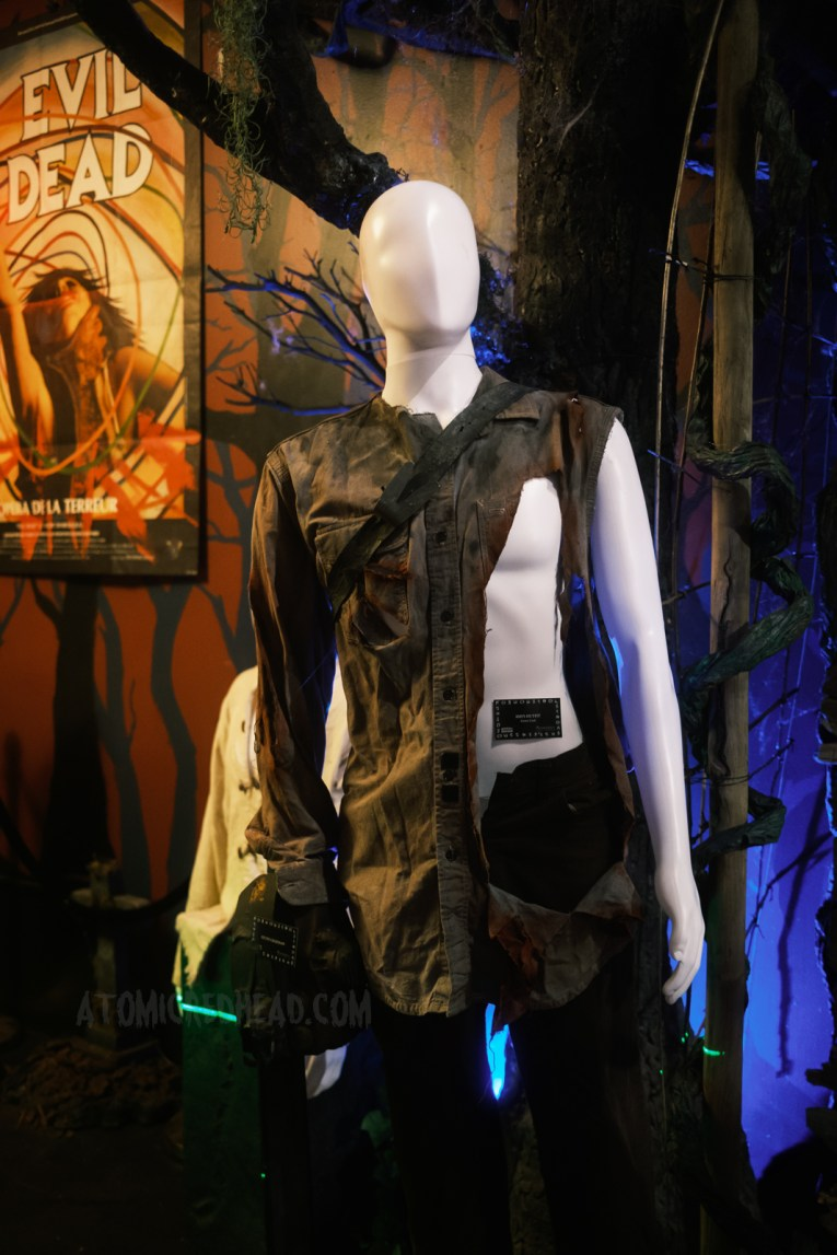 Ash's torn costume from Army of Darkness.