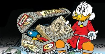 RECOMMENDED READING: <br>Uncle Scrooge McDuck