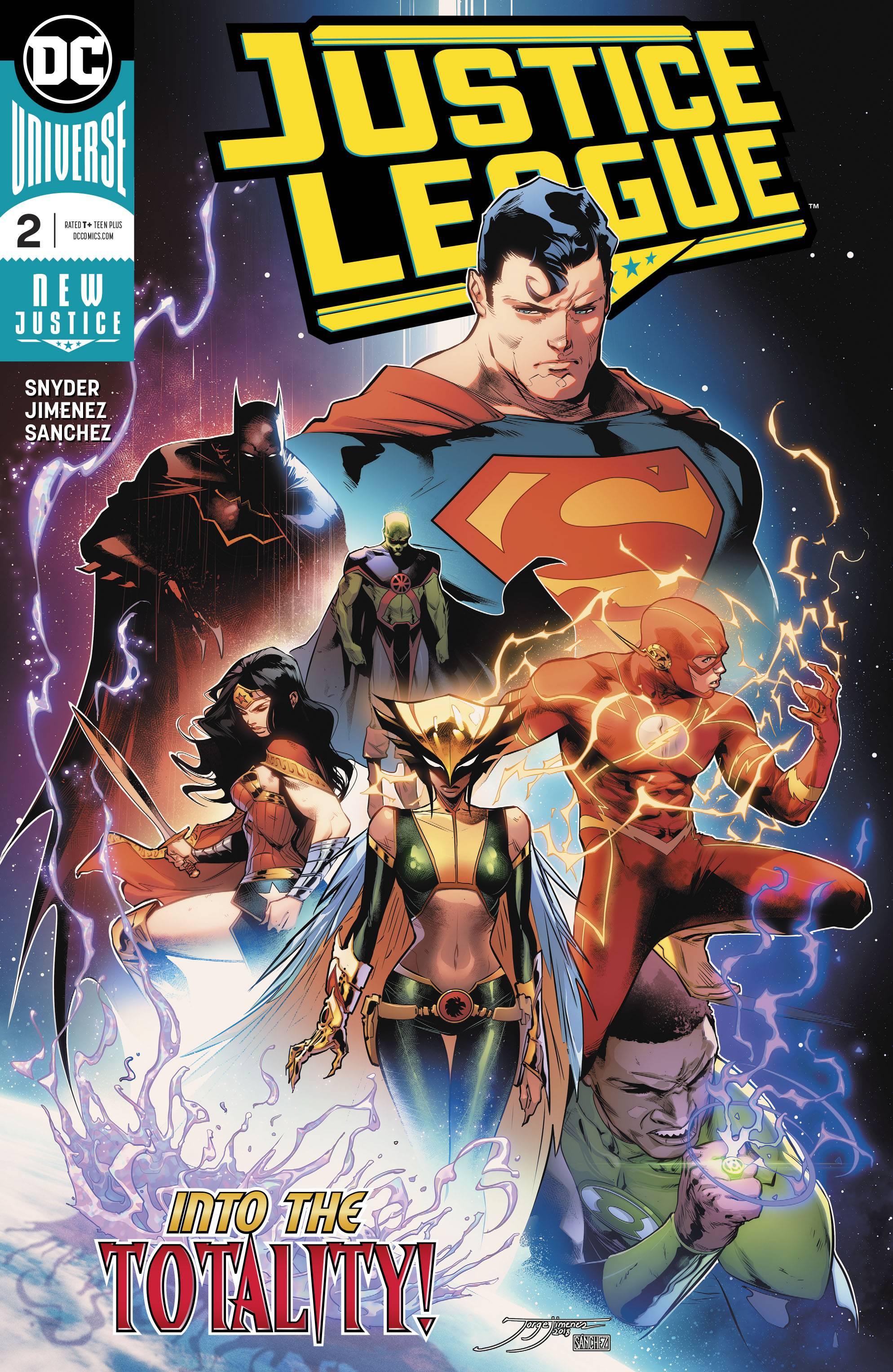 Justice League #2, June 2018