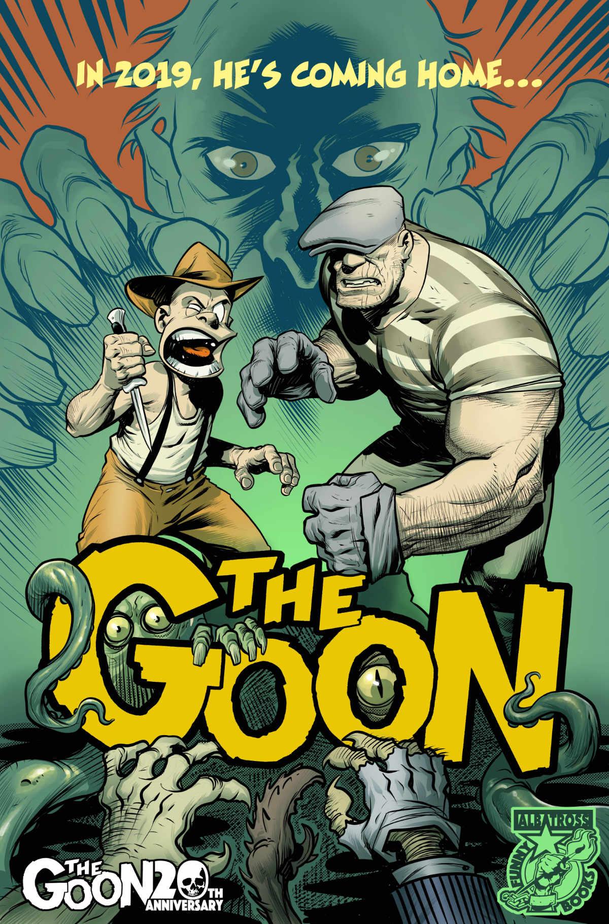 The Goon Returns to Atomik Pop!