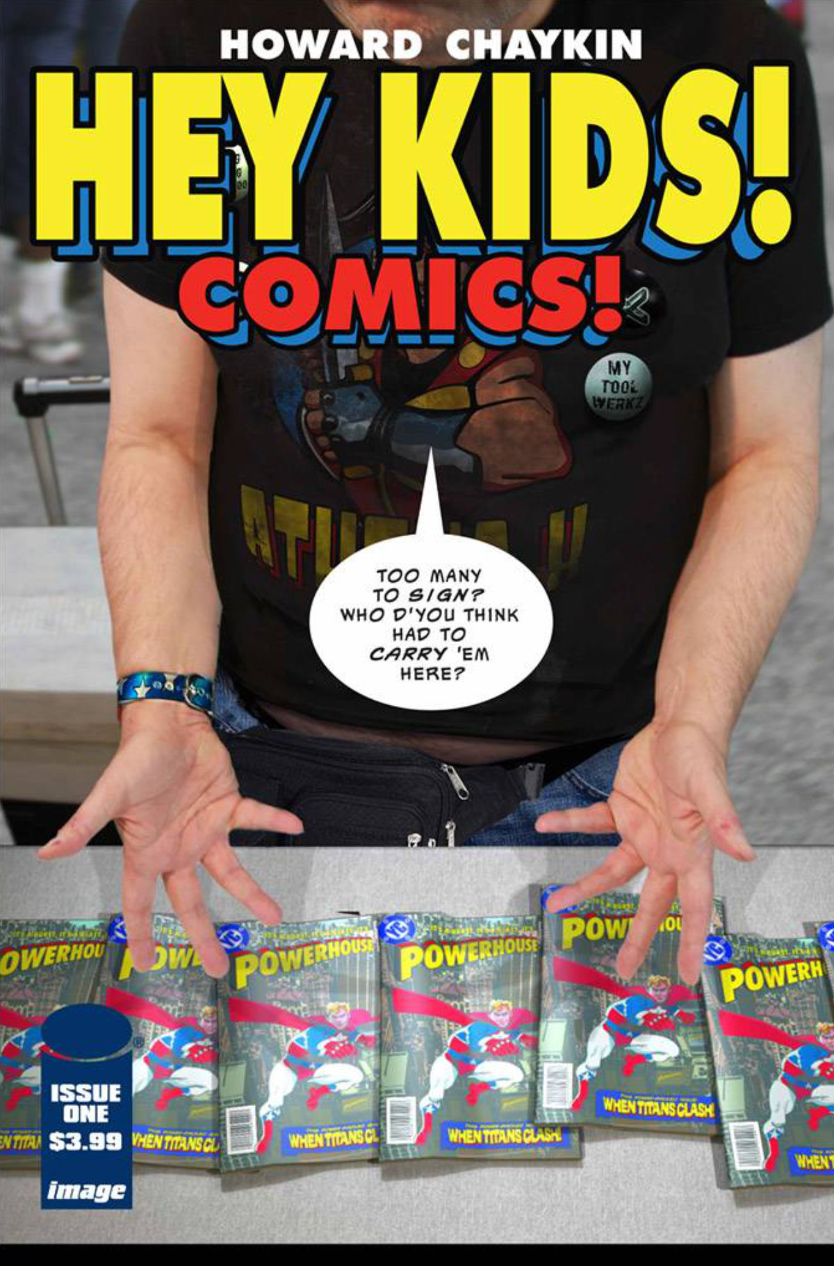Hey Kids, Comics! By Howard Chaykin