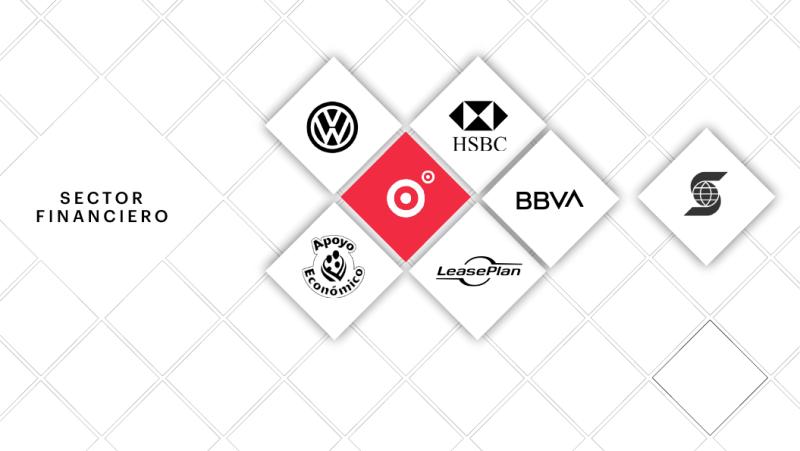Financiero: Volkswagen Bank, HSBC, Apoyo Económico, LeasePlan, Fundación BBVA, ScothiaBank