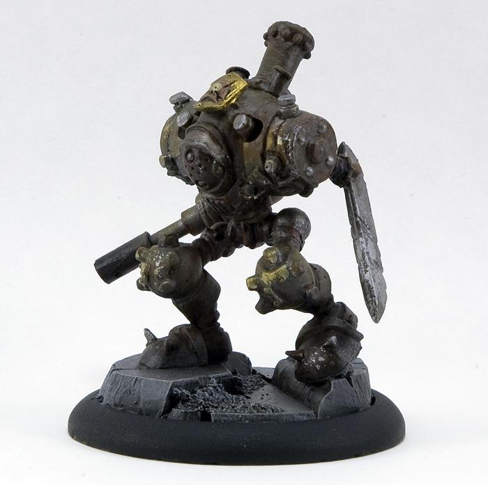 Steam Golem Atom Smashing