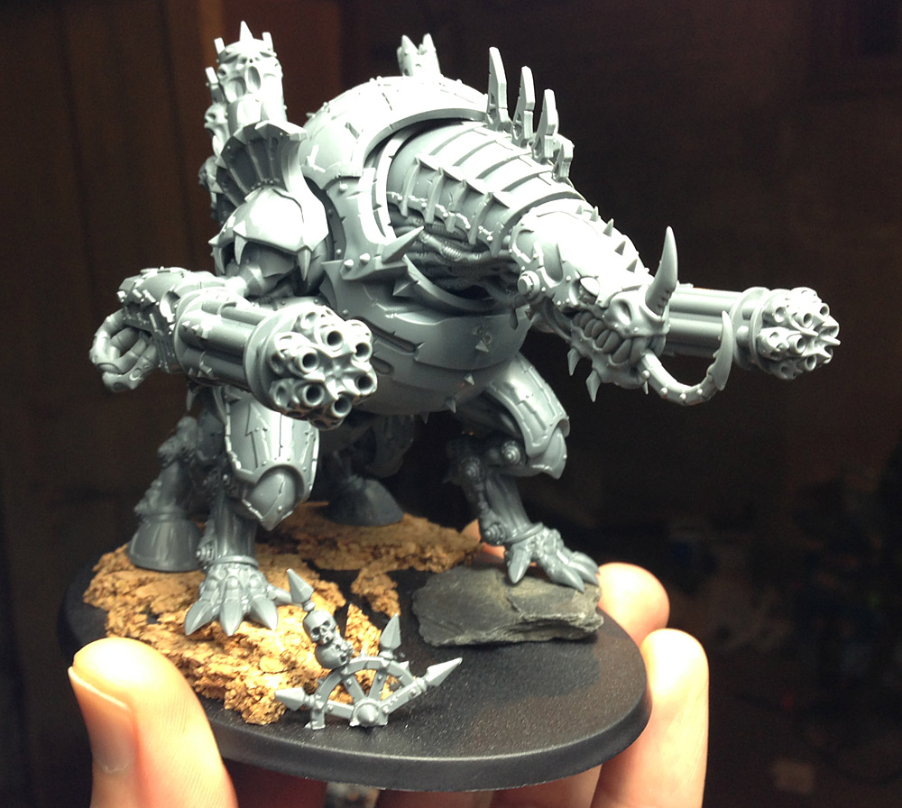 Issues With the New Chaos Space Marine Codex and a New F(r)iend (2/2)