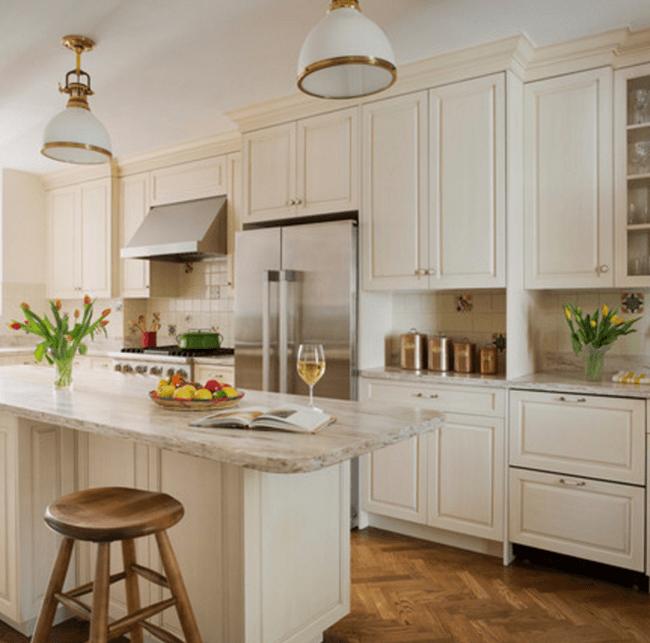Sensational Sandalwood Corian Kitchen Countertop
