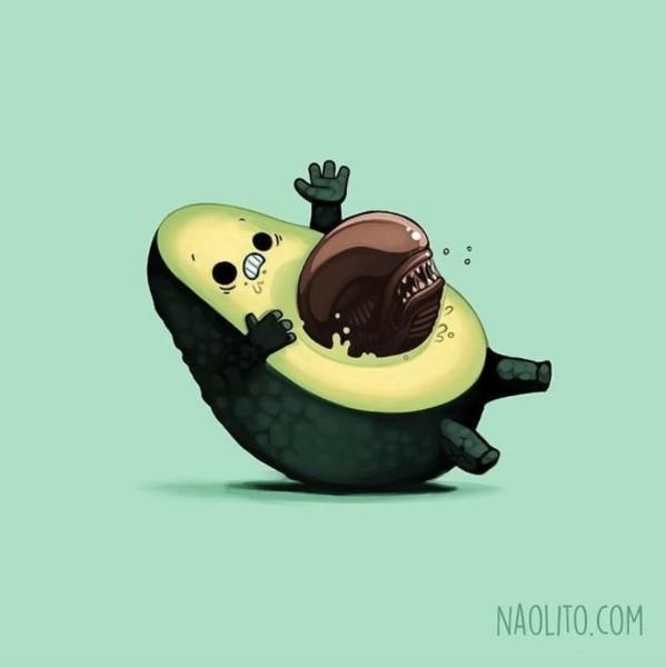 Alien: El avocado pasajero