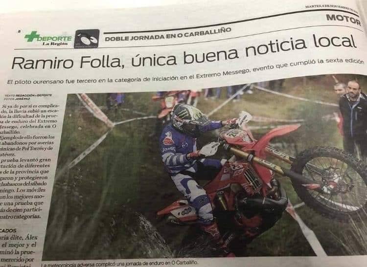 Ramiro Folla noticia