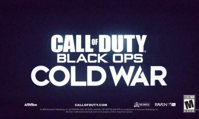 Call Of Duty: Cold War leak