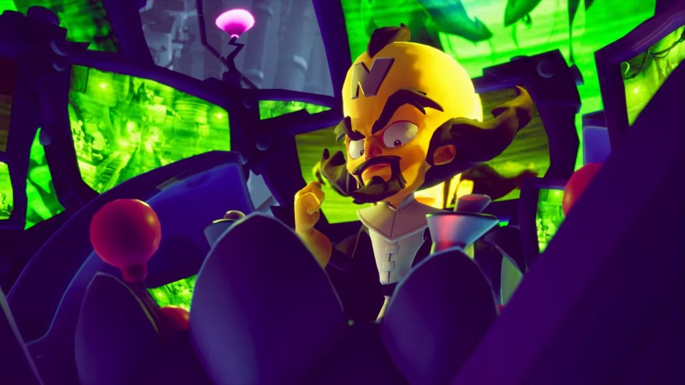 Neo Cortex será jogável em Crash Bandicoot 4: It's About Time.