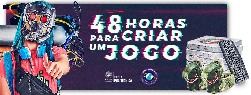 Chamada da Global Game Jam Curitiba 2020