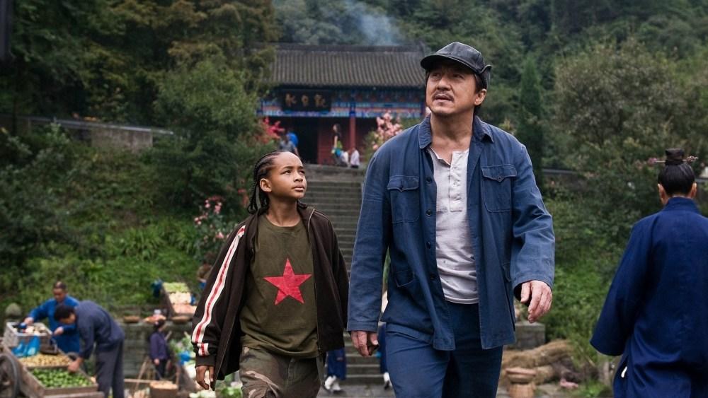 Dre Parker e Mr. Han - Karatê Kid (2010)