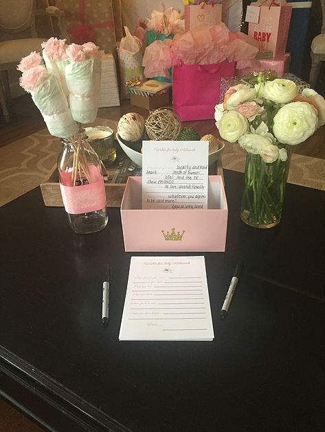 Royal Baby Shower Activities
