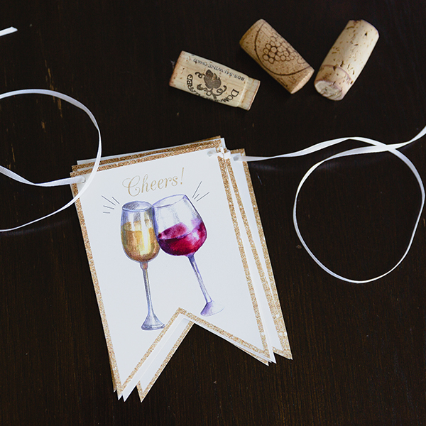 Wine Tasting Party Banner