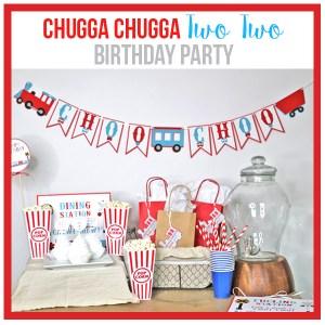 Train Birthday Party Decorations