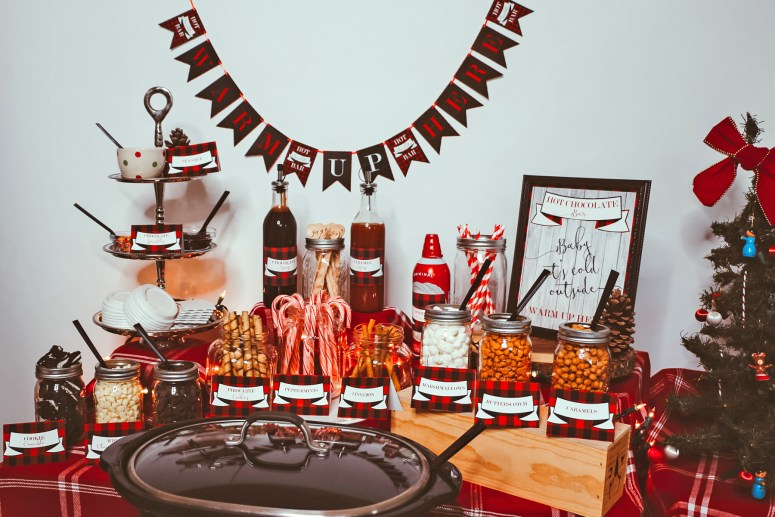 The Ultimate Hot Chocolate Bar