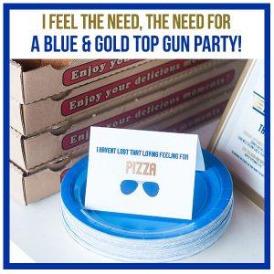 Top Gun Birthday Party Decorations