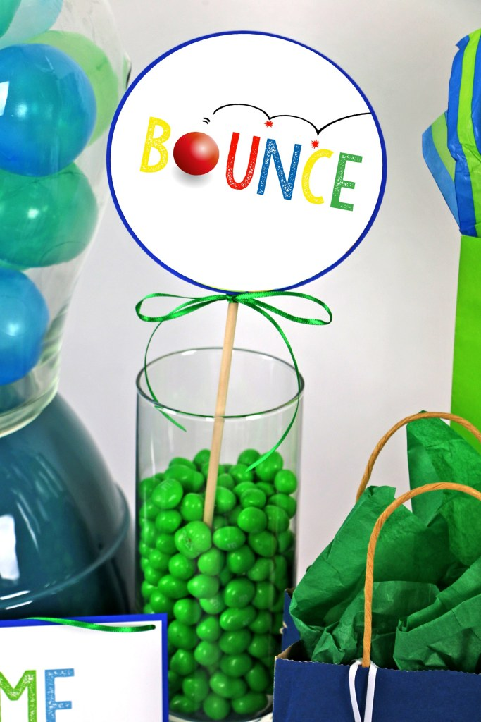 Bounce on in and have a ball! Bouncy Ball Party Decorations