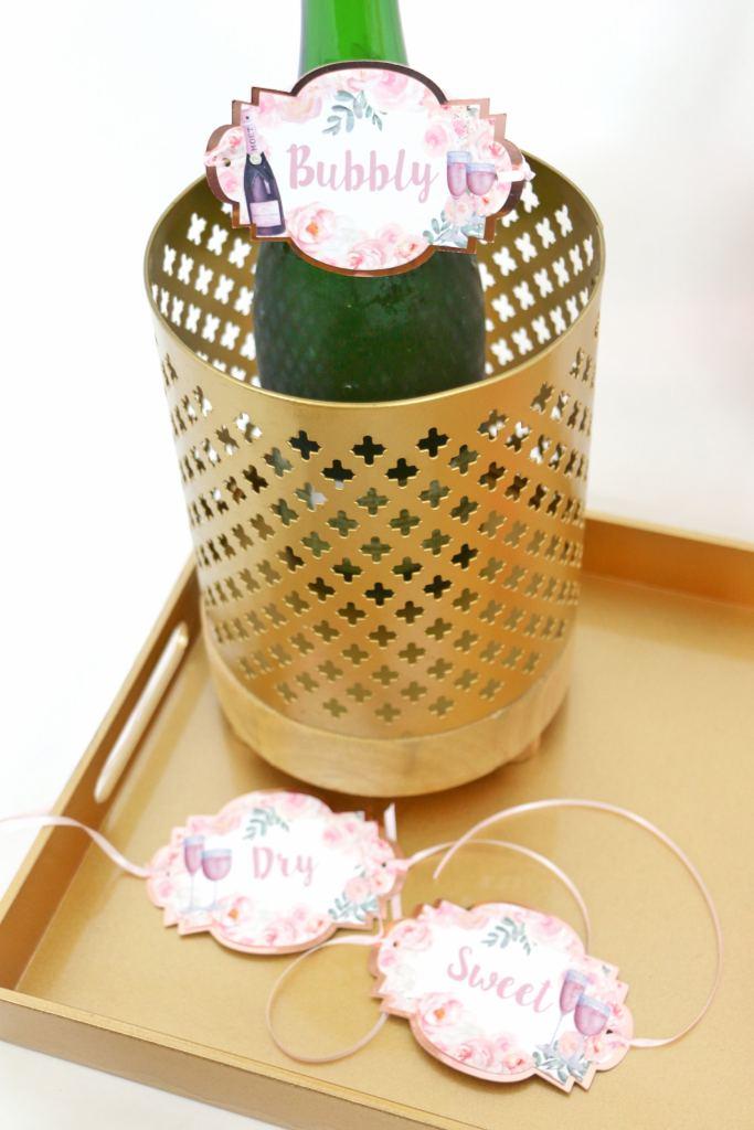 Rosé Bottle Tags