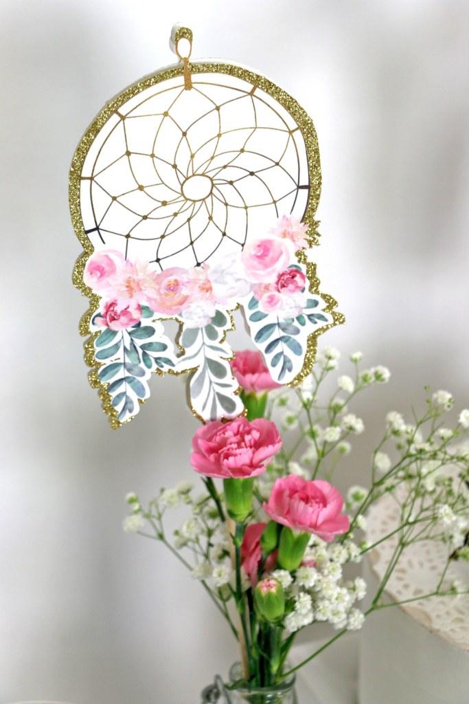Dream catcher Shower Printable Decorations
