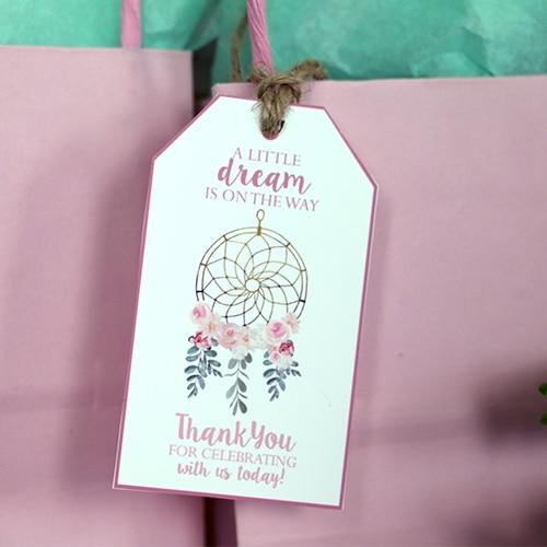 Dream Catcher Printable Favor Tags