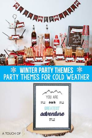 Winter Party Themes Party Themes for Cold Weather