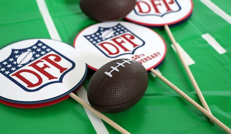 Custom Football Party Decorations