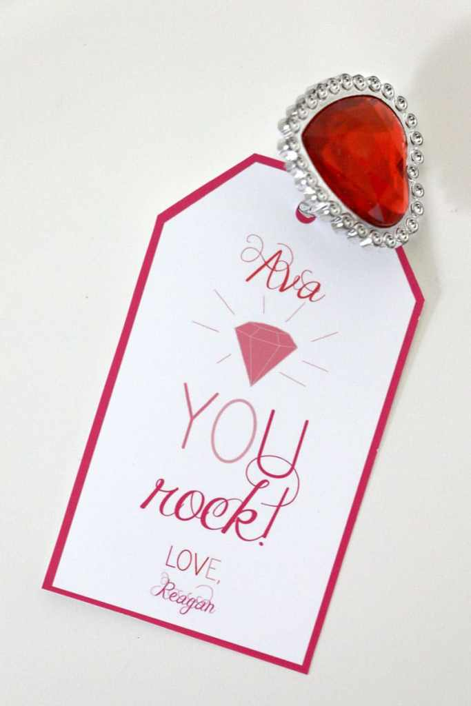Dollar Store Valentine Ideas: Rings