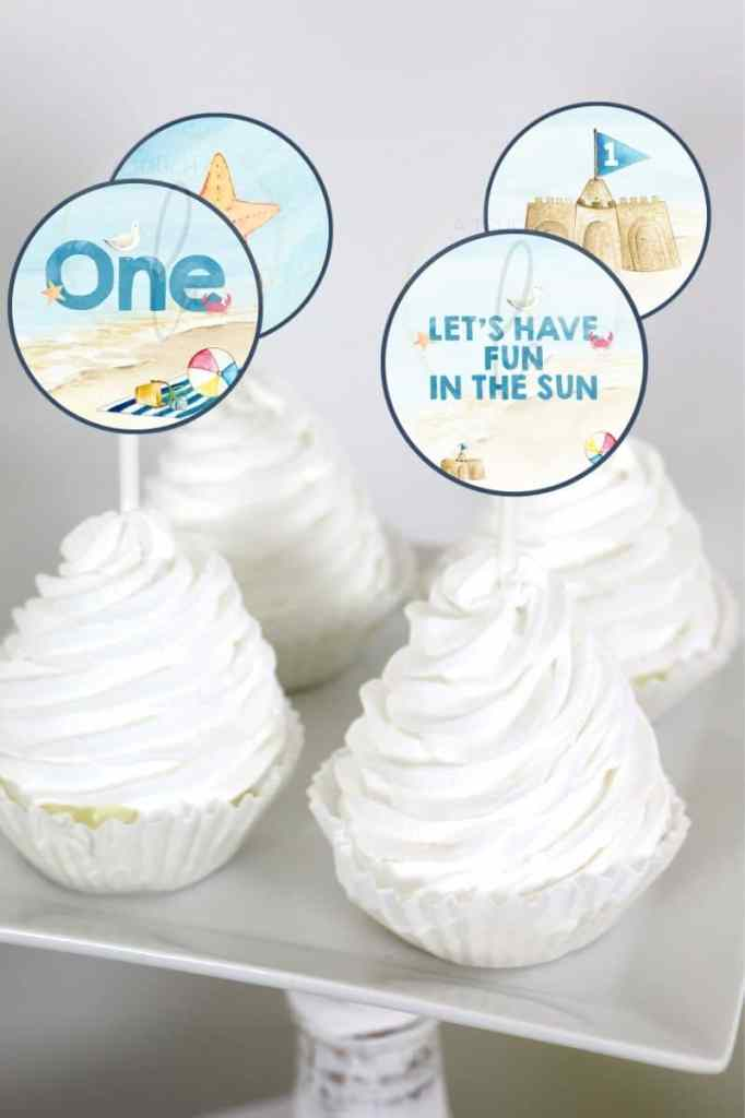 Beach Party Cupcake Toppers.jpg