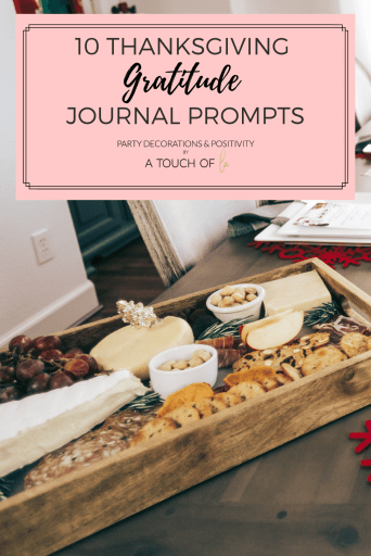 Thanksgiving can be stressful, amiright? That's why I've rounded up 10 Thanksgiving Gratitude Journal Prompts for this thanksgiving day.