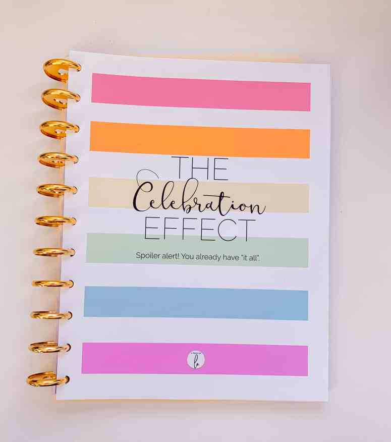 The Happy Planner Gratitude Journal