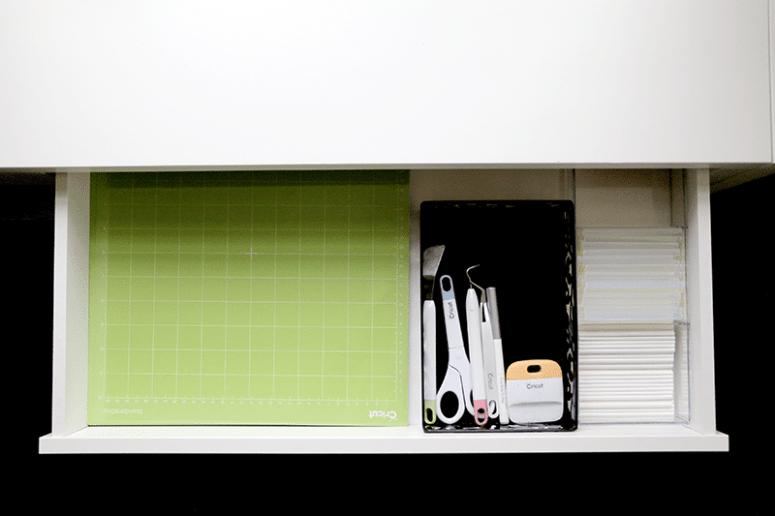 Cricut Accessory Storage