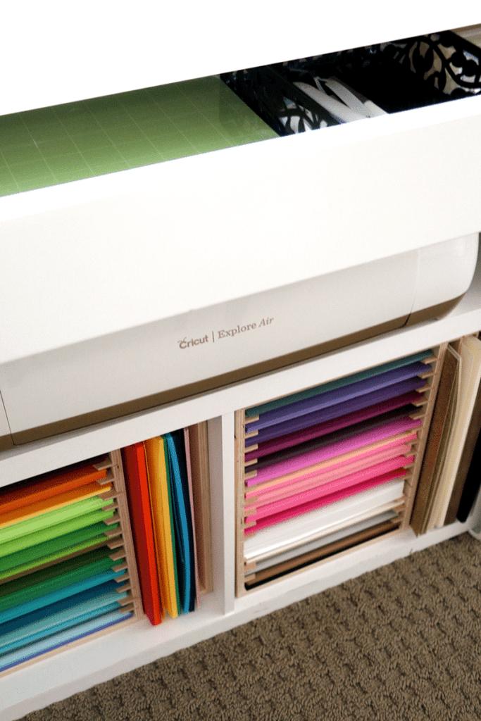 Cricut Paper Storage