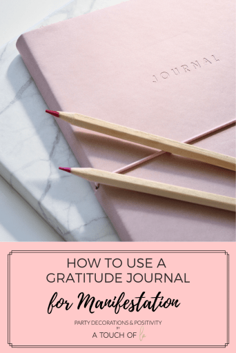 How to use a gratitude journal for manifestation