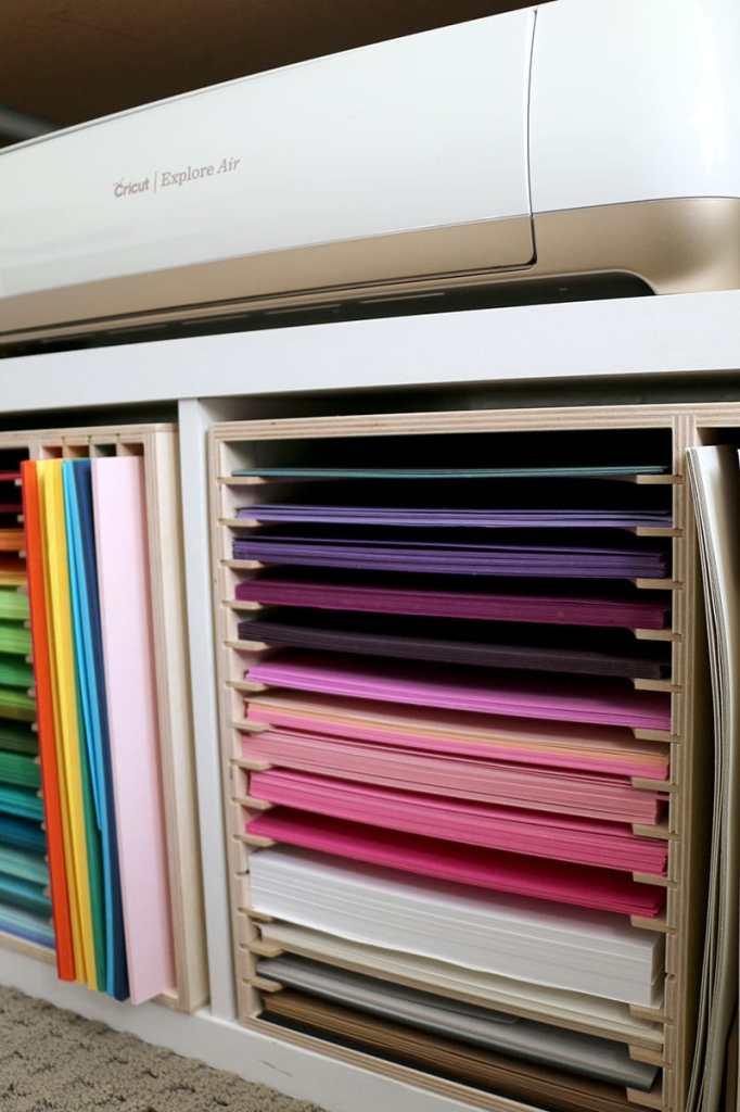 Cardstock-Paper-Organization