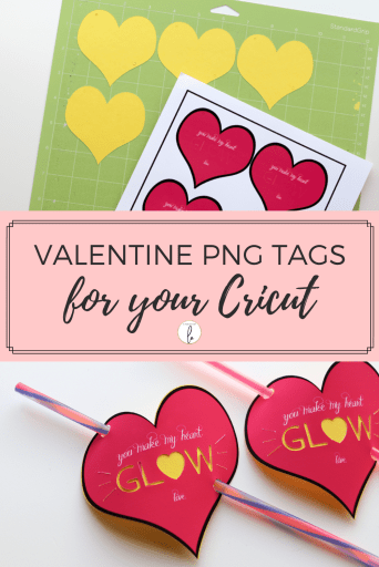 Valentine PNG Tags for your Cricut