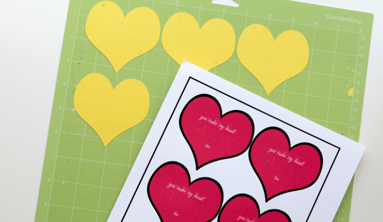 Cricut Valentines: Make Your Own Valentines With PNGs