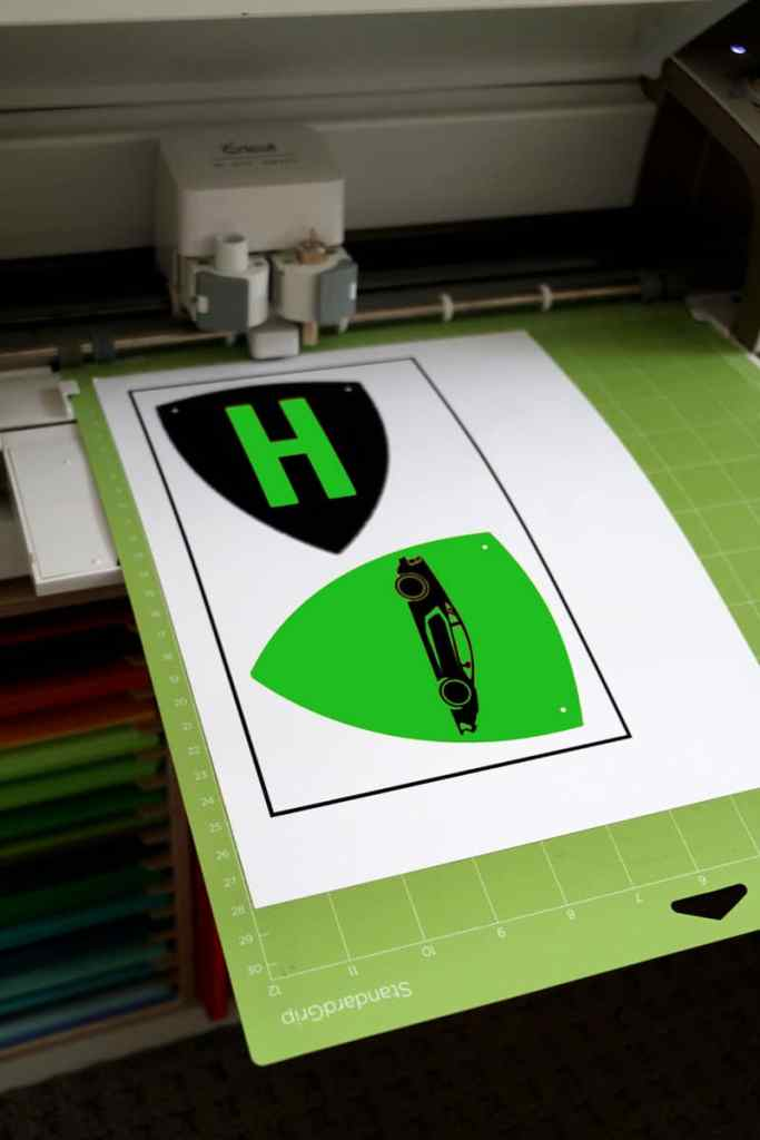 Cricut-Green-Supercar-Banner