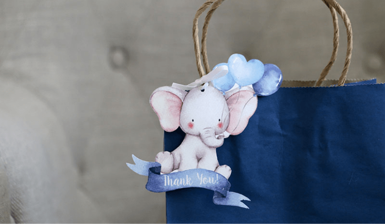 Unique Cricut Baby Shower Favors for Baby Boys