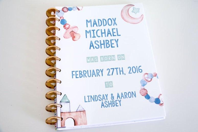 Baby-Boy-DIY-Baby-Book-Cover