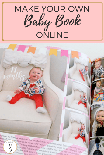 Make Your Own Baby Book Online