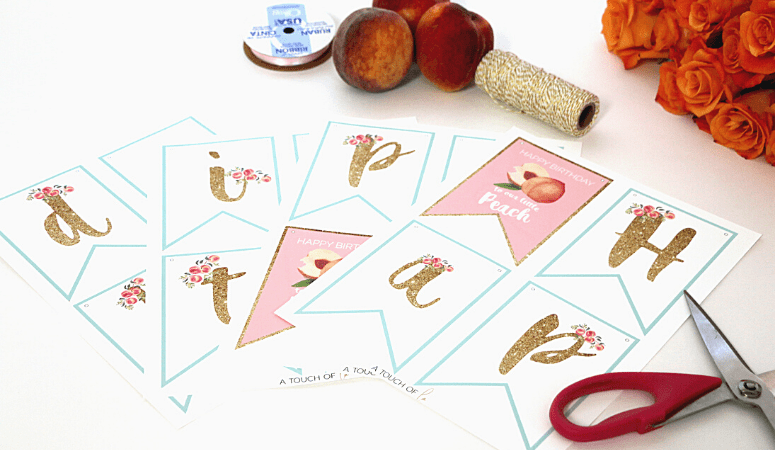 How to DIY Party Banners: Printable Party Decorations