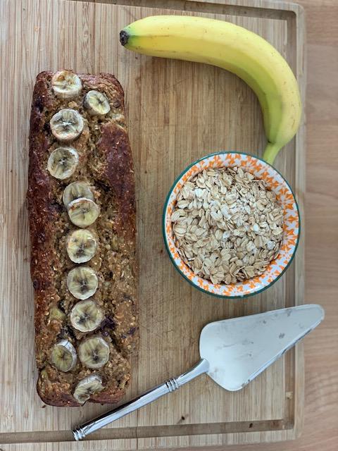 banana bread healthy entier