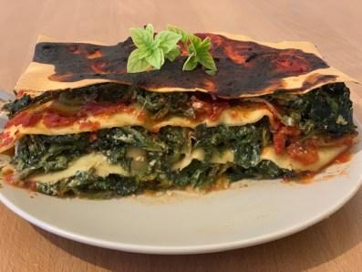 lasagnes épinard-ricotta