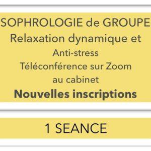 sophrologie de groupe 1 séance